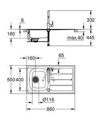 Bau Eviye Ve Batarya Seti (31562SD0)
