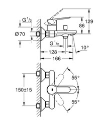 BauEdge Banyo Bataryası (23605000) - Thumbnail