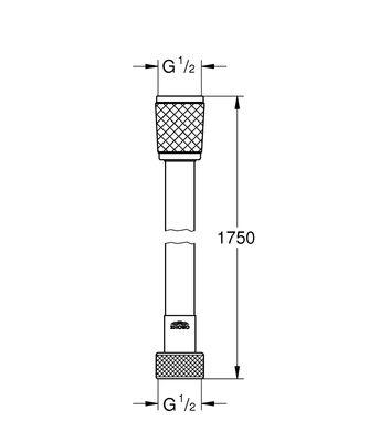 Rotaflex Hortum 1750 mm (28410001)